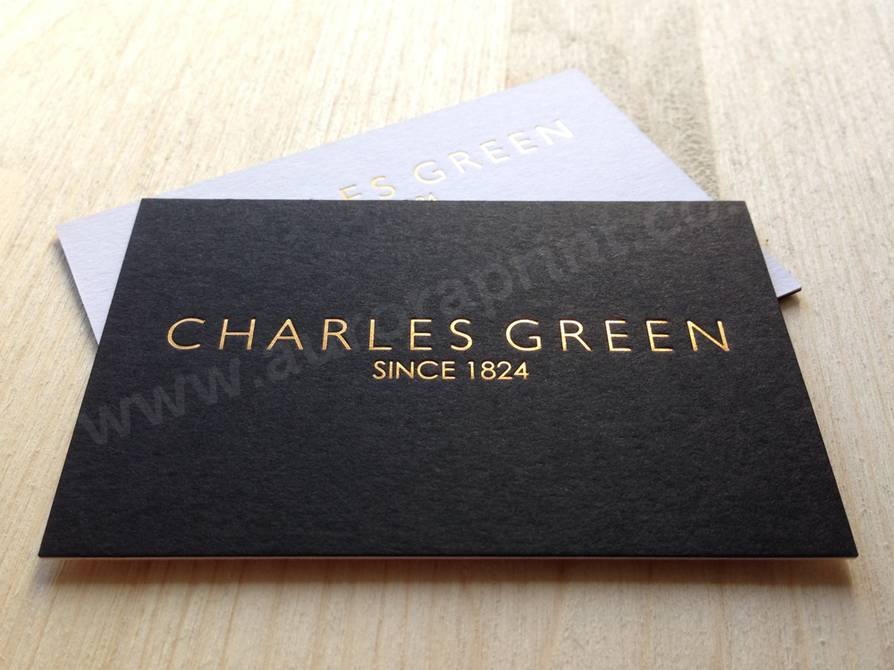 Duplexed Business Cards including; Colorplan, Sirio, Conqueror and ...